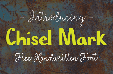 Chisel Mark free font