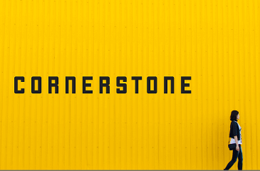Cornerstone is a no-nonsense font