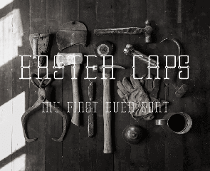 Erster Caps is a free uppercase font