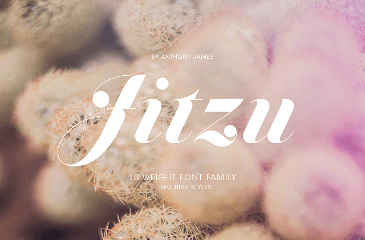 Jitzu is a multilingual font