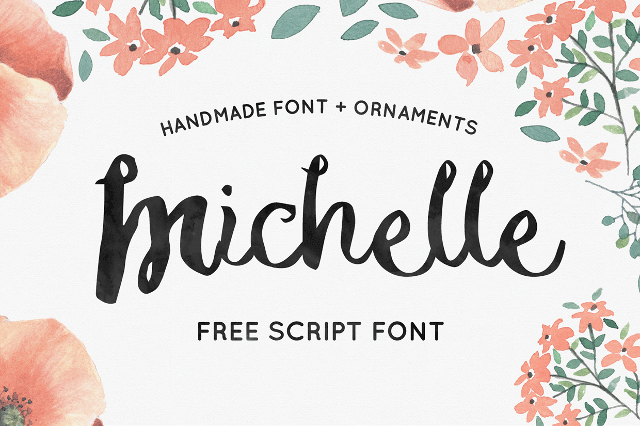 Michelle free font