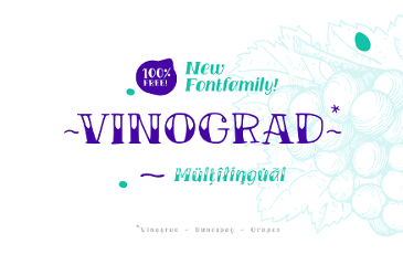 TM VINOGRAD FONTFAMILY
