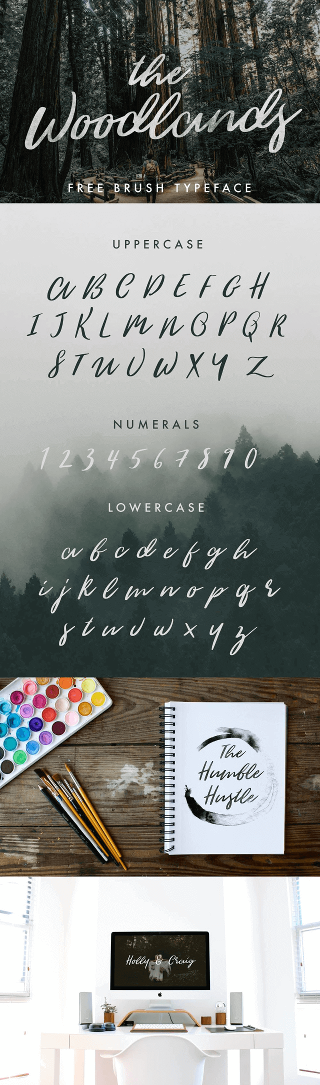 The Woodlands Free Font