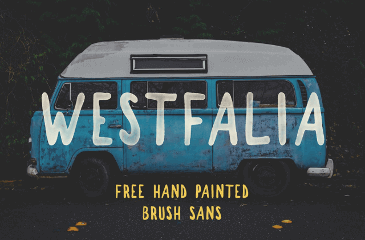 Westfalia is a hand painted