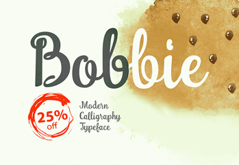 Freebie – Bobbie Regular font