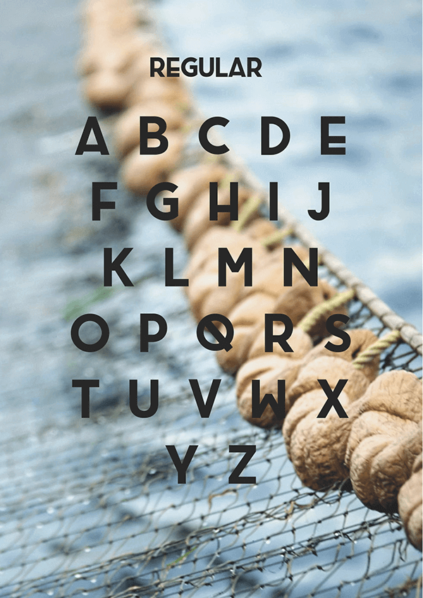 brig free font uppercase