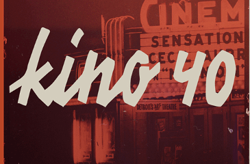KINO 40 old cinema font