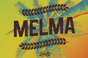 Beautiful Melma font