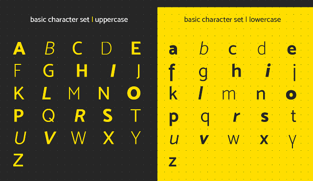 mosk free font uppercase lowercase