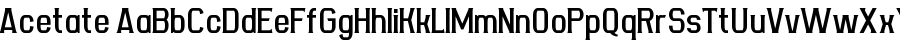 Acetate Polices