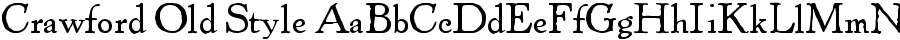 Crawford Old Style Font